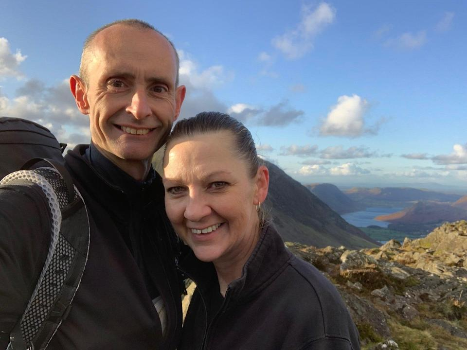 Paul Curtis and Christine Cordle (Paul Curtis)