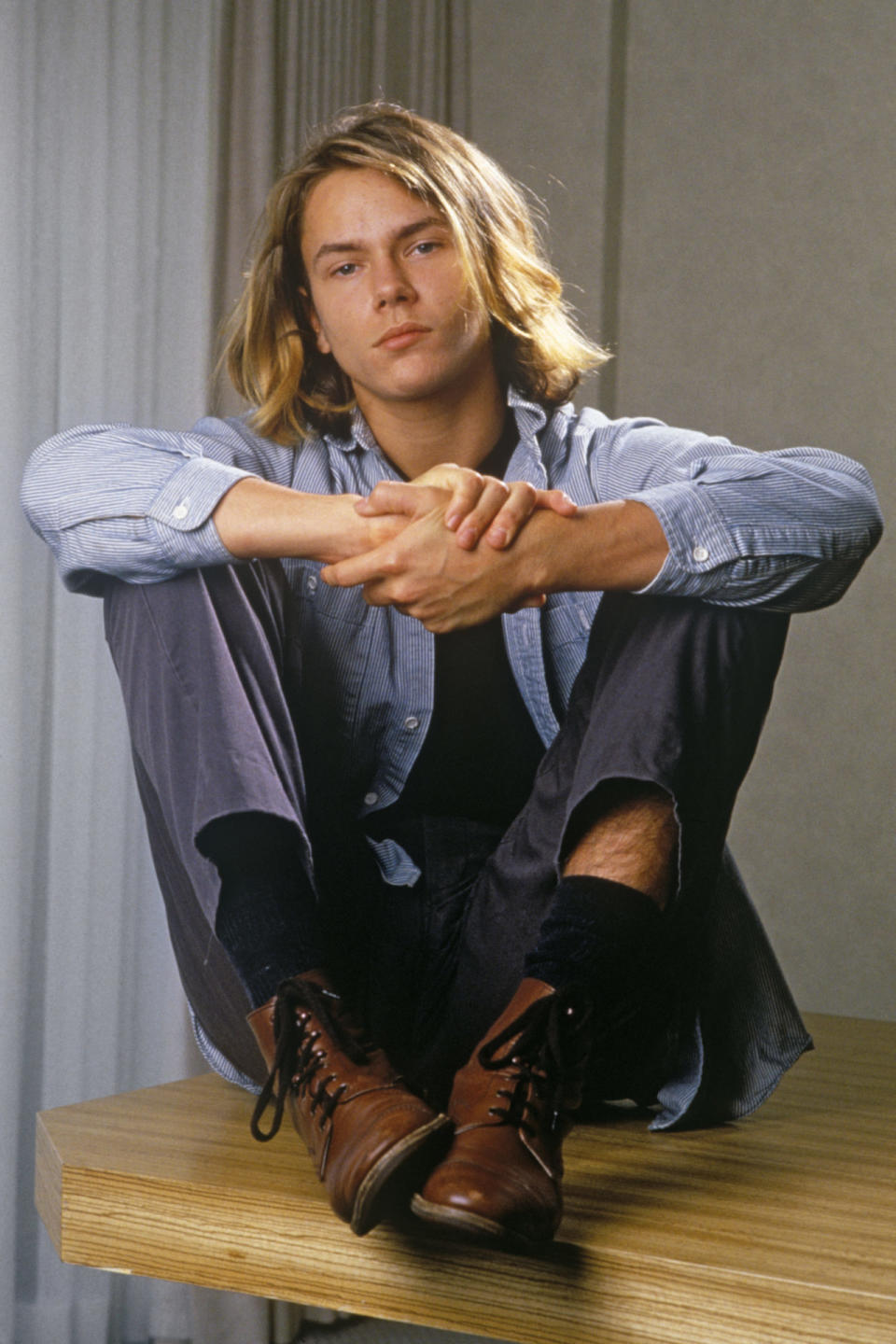 Actor River Phoenix Portrait Session