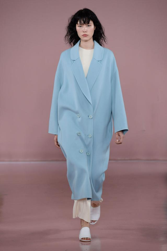 <p>Mansur Gavriel is the brand in the know when it comes to sorbet-inspired dressing. Floriana Gavriel and Rachel Mansur are the masterminds behind the cult label renowned for sell-out 'It' bags and pastel-hued must-have coats. <em>[Photo: Getty]</em> </p>