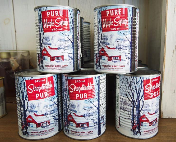 Quebec Maple Syrup Producers set new record for maple syrup production this year