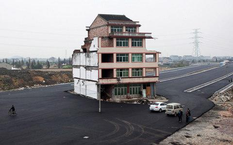 nail house china  - Credit: AP