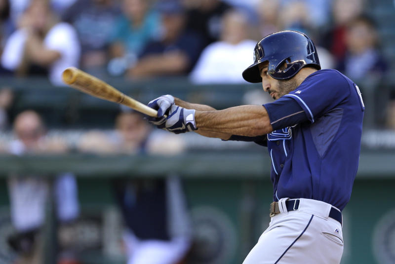 Rays rally past Mariners, build wild-card lead