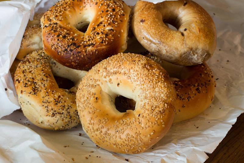 One strange theory as to why bagels have holes