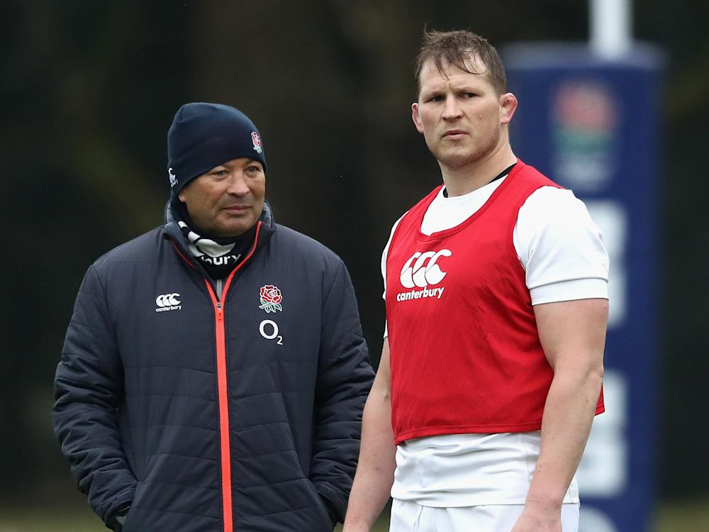 Eddie Jones believes his skipper played well during the Six Nations: Getty