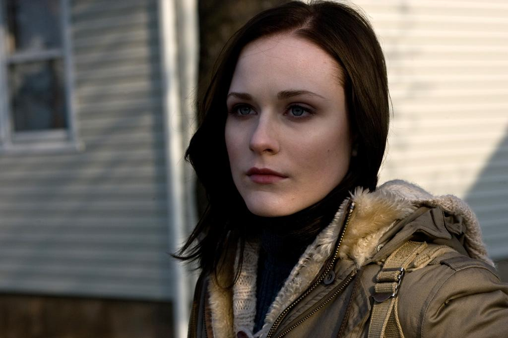 "<a href=""http://movies.yahoo.com/movie/contributor/1800021285"">Evan Rachel Wood</a> in Fox Searchlight's <a href=""http://movies.yahoo.com/movie/1809994789/info"">The Wrestler</a> - 2008"