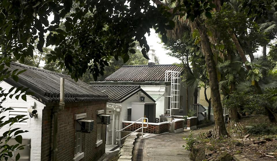 The site of the water filter beds and staff quarters is now the Lung Fu Shan Environmental Education Centre. Photo: Xiaomei Chen