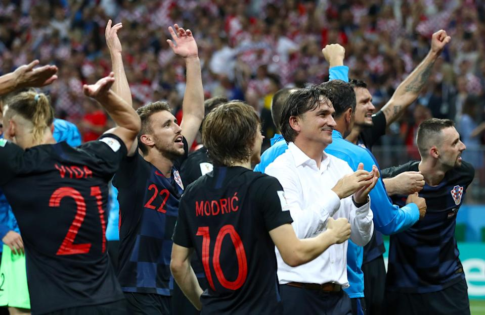England fell to Croatia in 2018 (PA Archive)