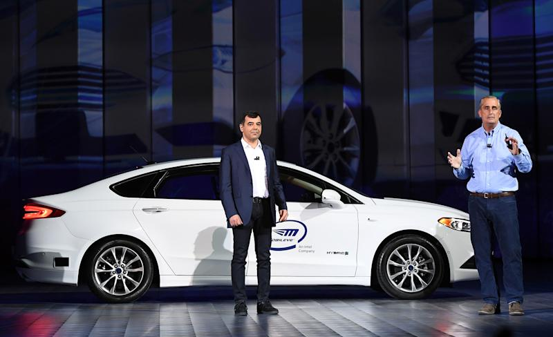 Self-driving cars take over CES: Here's how big tech is playing the market