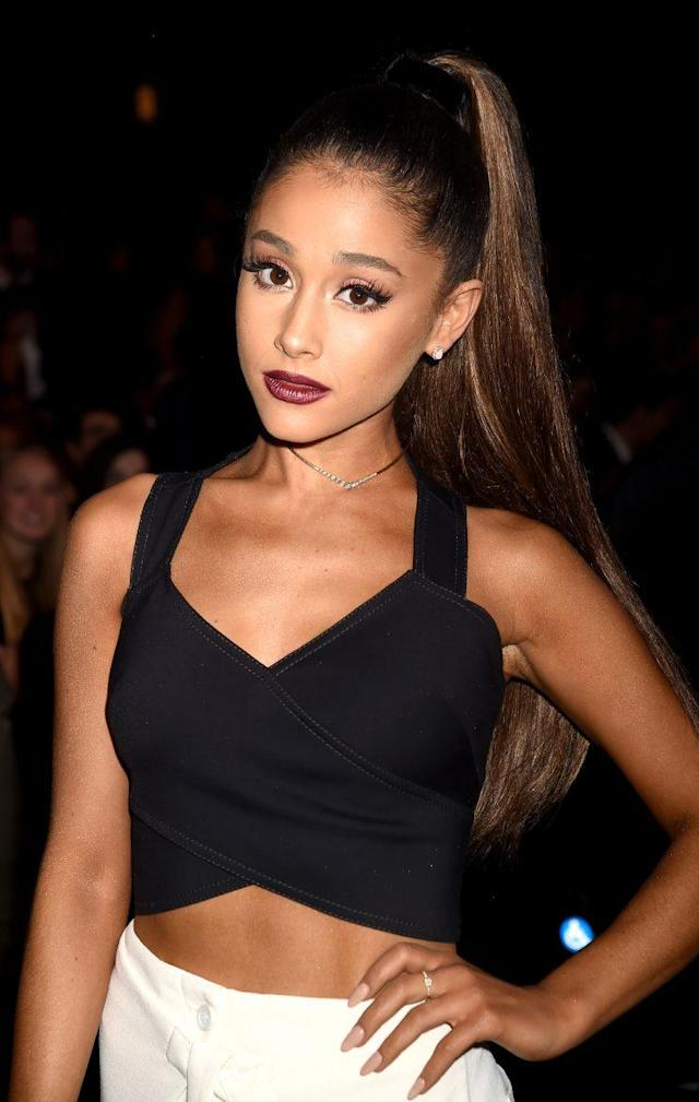 Ariana Grande is OK, her rep says. (Photo: Jeff Kravitz/AMA2016/FilmMagic)