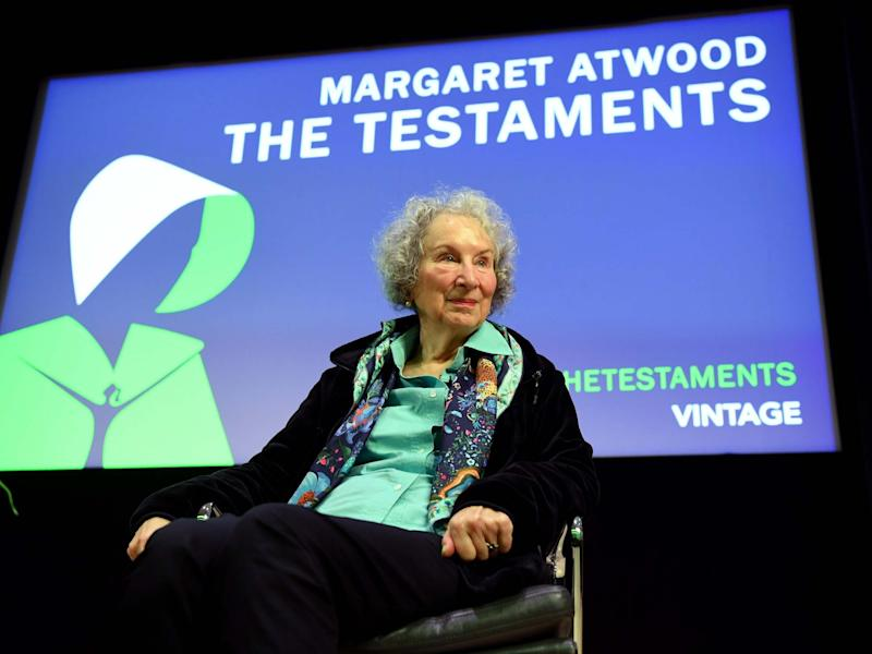 Margaret Atwood's sequel to the famed Handmaid's Tale has sparked much excitement: EPA