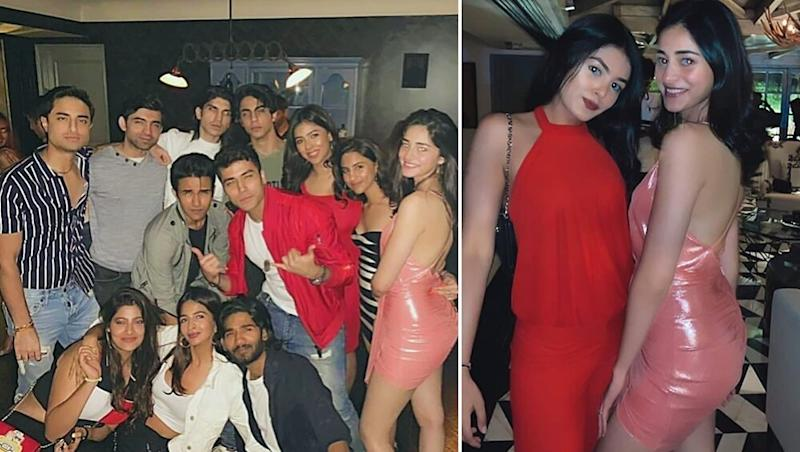 Ananya Panday Parties With Aryan Khan and Other Friends Looking Like a Total Diva - View Pics