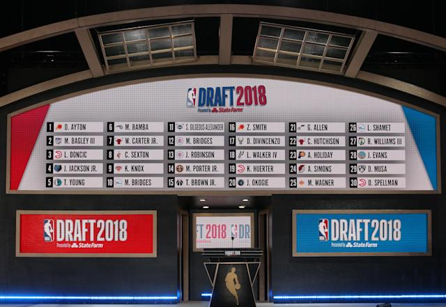 In a pre-NBA Draft Lottery tiebreaker on Friday, the Blazers came away with the 25th pick in the 2019 NBA Draft.
