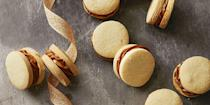"""<p>Instead of caramel apples, try these caramel-filled sweets for Halloween instead. Bonus: They're way less messy!</p><p><em><a href=""""https://www.goodhousekeeping.com/food-recipes/dessert/a35757/dulce-de-leche-sandwiches/"""" rel=""""nofollow noopener"""" target=""""_blank"""" data-ylk=""""slk:Get the recipe for Dulce de Leche Sandwiches »"""" class=""""link rapid-noclick-resp"""">Get the recipe for Dulce de Leche Sandwiches »</a></em></p><p><strong>RELATED: </strong><a href=""""https://www.goodhousekeeping.com/food-recipes/party-ideas/g31344562/cinco-de-mayo-desserts/"""" rel=""""nofollow noopener"""" target=""""_blank"""" data-ylk=""""slk:30 Delicious Cinco de Mayo Desserts to Get the Party Started"""" class=""""link rapid-noclick-resp"""">30 Delicious Cinco de Mayo Desserts to Get the Party Started</a><br></p>"""