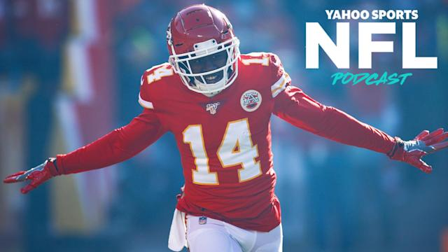 A strange interview with Sammy Watkins sparks a debate about his future on the latest Yahoo Sports NFL Podcast. (Photo by Joe Robbins/Getty Images)