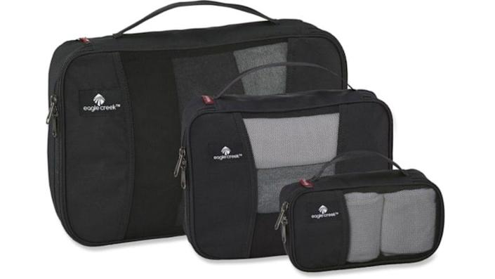 Packing cubes can save you an immense amount of space while packing.