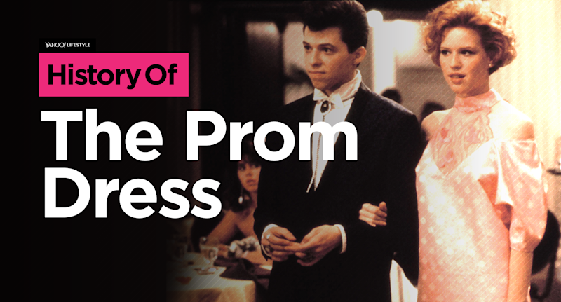 The History Of The Prom Dress