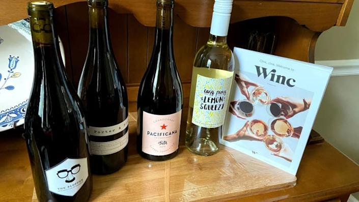 Best gifts for wives 2020: Winc wine subscription