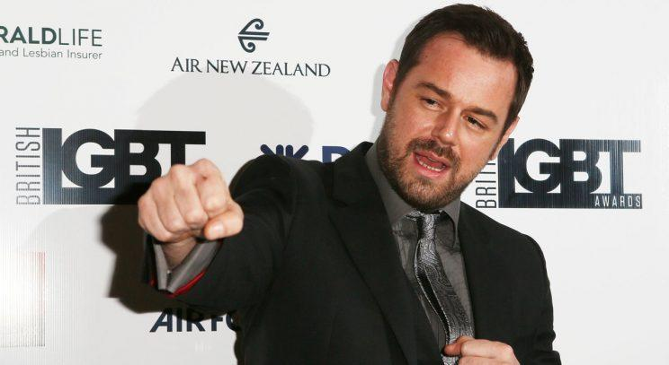 Danny Dyer/Rex Photos