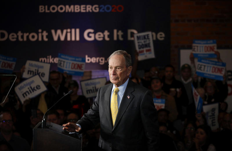 Bloomberg spent nearly $1 billion on his three-month presidential campaign