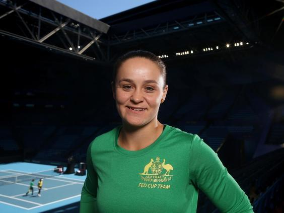 Ashleigh Barty is looking to become first Australian to win a Grand Slam on home soil since Chris O'Neil (Getty)