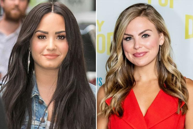 Demi Lovato and Hannah Brown | Marc Piasecki/Getty Images; Aaron Poole/Getty Images