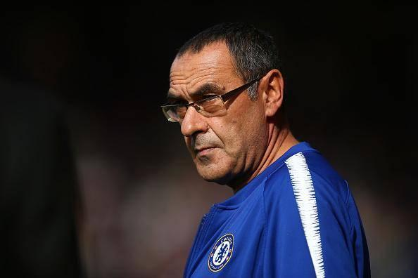 Maurizio Sarri remains undefeated in the league (Getty)