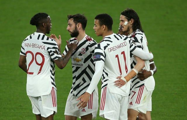 Manchester United were made to work by Roma as they secured safe passage to the Europa League final