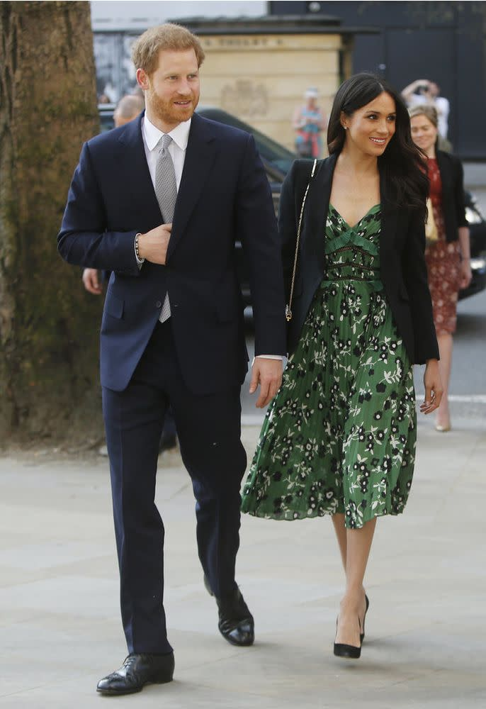 ca6f11871f2 Meghan Markle Pulls a Kate Middleton with Her First Royal Fashion Repeat