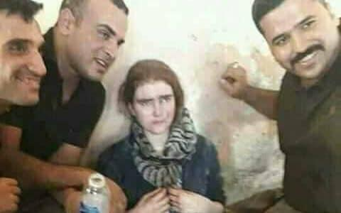Picture allegedly showing a 16-year-old German Isil member after being captured by Iraqi forces - Twitter