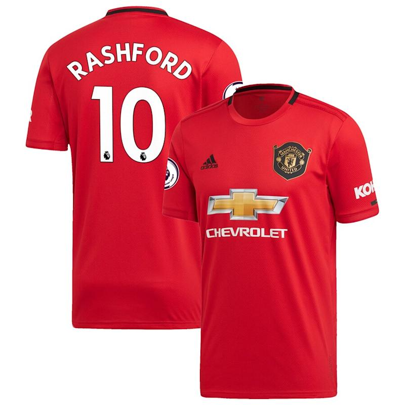 Rashford United 2019/20 Home Jersey