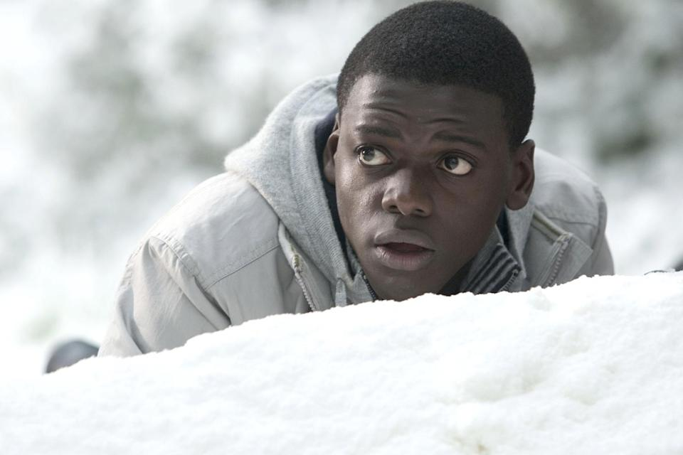 <p>From 2010 to 2012, Kaluuya appeared on the British sketch comedy show <em>Ruddy Hell! It's Harry and Paul</em>, starring Harry Enfield and Paul Whitehouse, as Parking Pataweyo. Then in 2011, the star sprung into action as Agent Colin Tucker in the action-comedy flick <em>Johnny English Reborn </em>(right), starring Rowan Atkinson.</p>