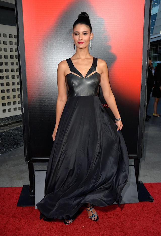 HOLLYWOOD, CA - JUNE 11: Acress Jessica Clark attends the premiere of HBO's 'True Blood' Season 6 at ArcLight Cinemas Cinerama Dome on June 11, 2013 in Hollywood, California. (Photo by Frazer Harrison/Getty Images)