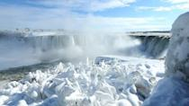 <p>A deep freeze has settled over large parts of Canada and the United States, bringing extreme cold, piles of snow, and icy conditions, even the famous Niagara Falls are partially frozen. </p>
