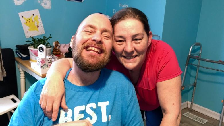 Brain-injured man beating the odds, family fights for more rehab