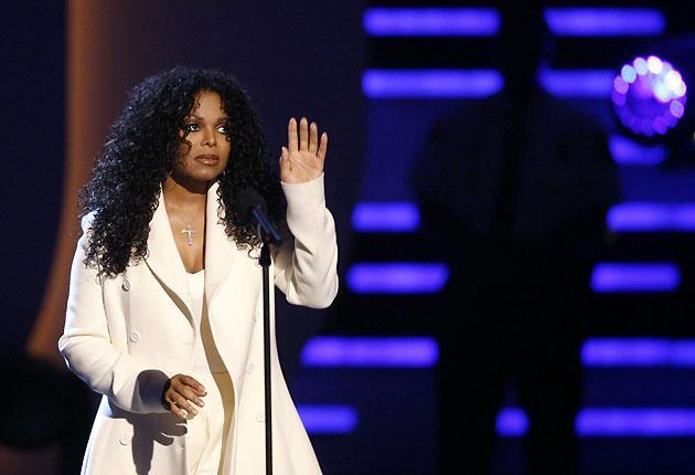 Janet Jackson at the BET Awards in 2009Mario Anzuoni / Reuters
