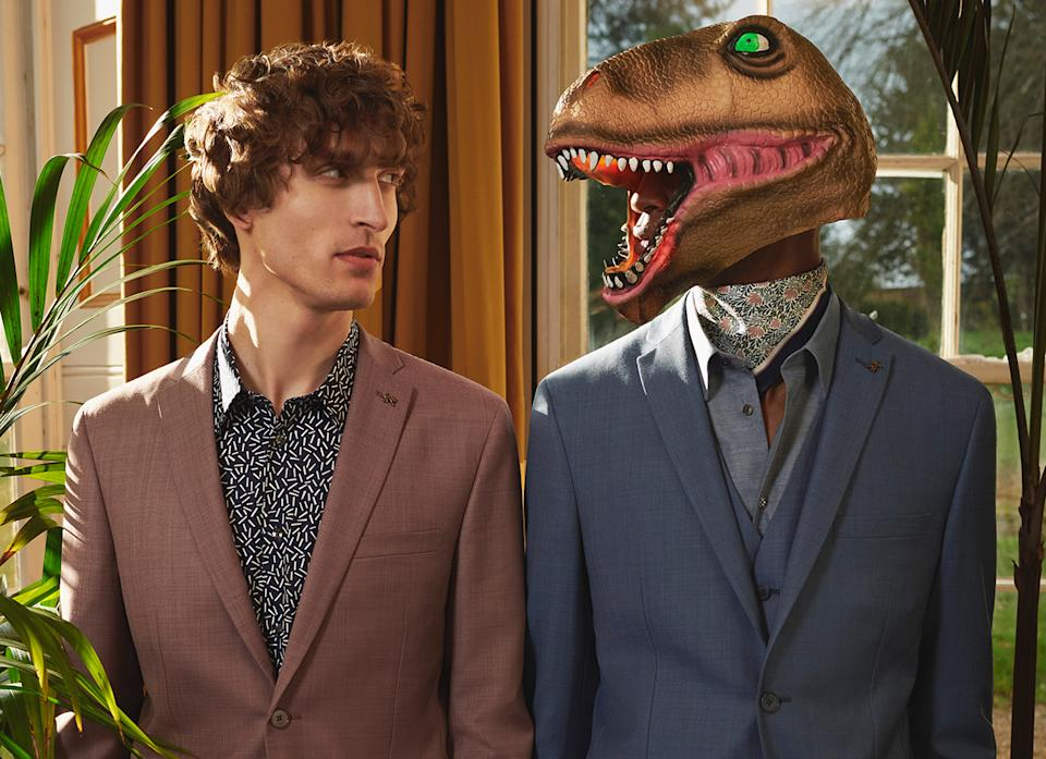 A promotional image for Ted Baker's latest season of clothing. The retailer was hit hard by COVID. Photo: Ted Baker