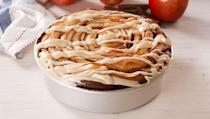 """<p>This giant cinnamon roll is stuffed with thinly sliced apples and drizzled with a caramel cream cheese frosting. In other words: IT'S INSANE. And your friends and family will freak out.</p><p>Get the <a href=""""https://www.delish.com/uk/cooking/recipes/a33120732/giant-caramel-apple-cinnamon-roll-recipe/"""" rel=""""nofollow noopener"""" target=""""_blank"""" data-ylk=""""slk:Giant Caramel Apple Cinnamon Roll"""" class=""""link rapid-noclick-resp"""">Giant Caramel Apple Cinnamon Roll</a> recipe.</p>"""