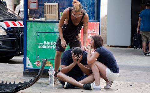 Victims of the Barcelona attack - Credit: David Armengou/EFE