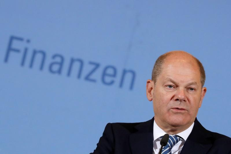 German economic situation stable, growth to pick up once trade tensions gone - Scholz