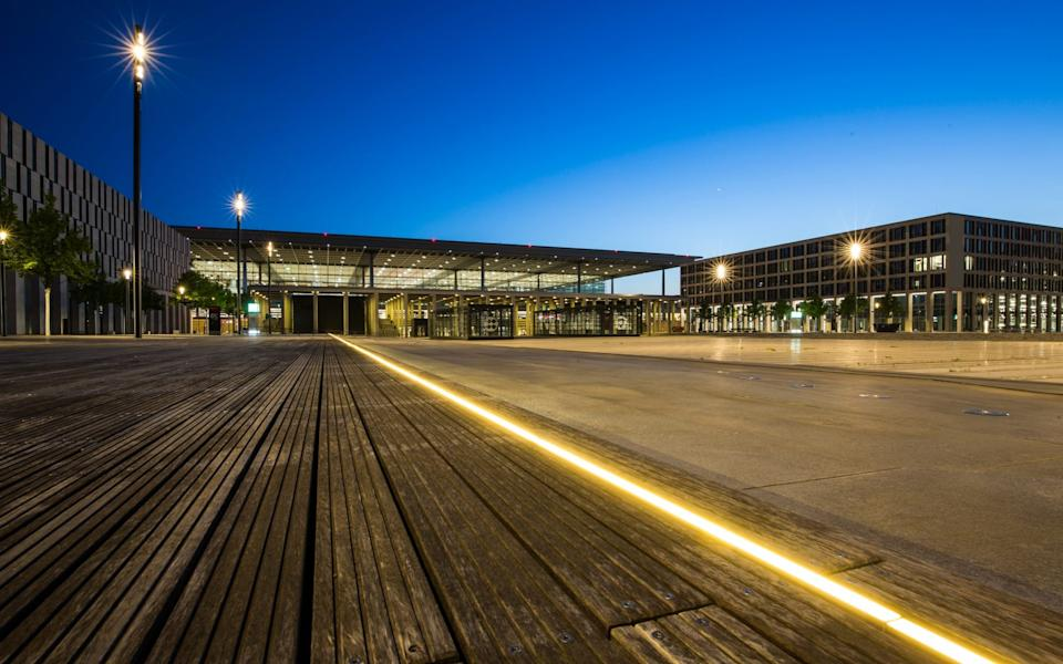 The Willy Brandt Berlin Brandenburg Airport has been nearly 10 years in the making - Getty Images