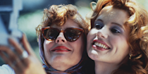 <p>While <em>Thelma & Louise </em>is a road trip movie set across multiple states, the film's most indelible image — spoiler alert for a movie that's more than 25 years old — is the girls rocketing over a cliff at the Grand Canyon. </p>