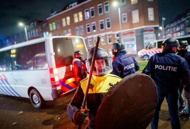 Police unions said it was the worst rioting in four decades