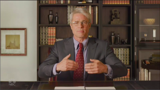 Watch Brad Pitt Portray Dr. Anthony Fauci on 'SNL at Home'