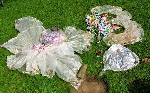 """The island's council is urging the public to avoid using balloons where possible to cut down on """"sky-tipping"""" - Credit: FAOCP"""