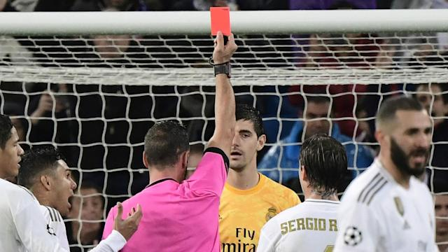 The technology reversed a potential penalty against the hosts for a foul on Marcelo, while their keeper also dodged a red card