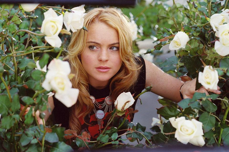 """<p><a class=""""link rapid-noclick-resp"""" href=""""https://www.popsugar.co.uk/Lindsay-Lohan"""" rel=""""nofollow noopener"""" target=""""_blank"""" data-ylk=""""slk:Lindsay Lohan"""">Lindsay Lohan</a> stars as Lola, a dramatic teen who isn't pleased when her family moves from New York City to New Jersey. Still, she keeps alive her dream of being the leading lady in the school play while balancing backstage drama and teenage crushes. </p> <p><a href=""""https://www.disneyplus.com/movies/confessions-of-a-teenage-drama-queen/5NXvQbvvDF58"""" class=""""link rapid-noclick-resp"""" rel=""""nofollow noopener"""" target=""""_blank"""" data-ylk=""""slk:Watch Confessions of a Teenage Drama Queen on Disney+ now."""">Watch <strong>Confessions of a Teenage Drama Queen</strong> on Disney+ now.</a></p>"""