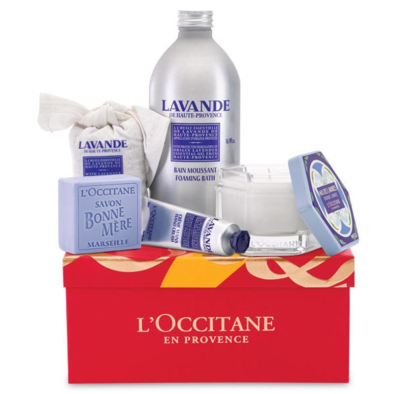 """<p>Let the soothing scent of lavender fill your loved one's home with L'Occitane's special gift set. </p><p>Buy it <a rel=""""nofollow noopener"""" href=""""http://www.anrdoezrs.net/links/7799179/type/dlg/sid/ISSPWORKAHOLICGIFTGUIDE/fragment/s%3D78854/http%3A//usa.loccitane.com/aromatic-lavender-gift%2C82%2C1%2C78851%2C974776.htm"""" target=""""_blank"""" data-ylk=""""slk:here"""" class=""""link rapid-noclick-resp"""">here</a> for $72.</p>"""