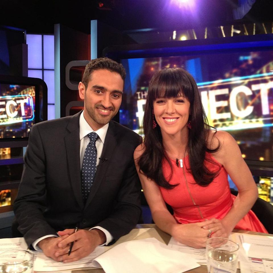 Gorgi Coghlan on The Project with Waleed Aly