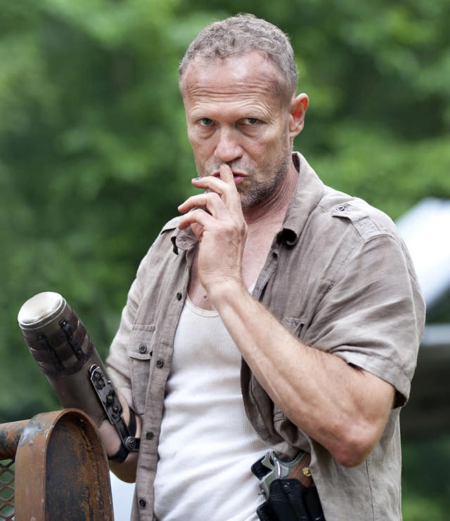 "Merle Dixon (Michael Rooker) in ""Seed,"" the Season Three premiere episode of ""The Walking Dead"" on AMC."