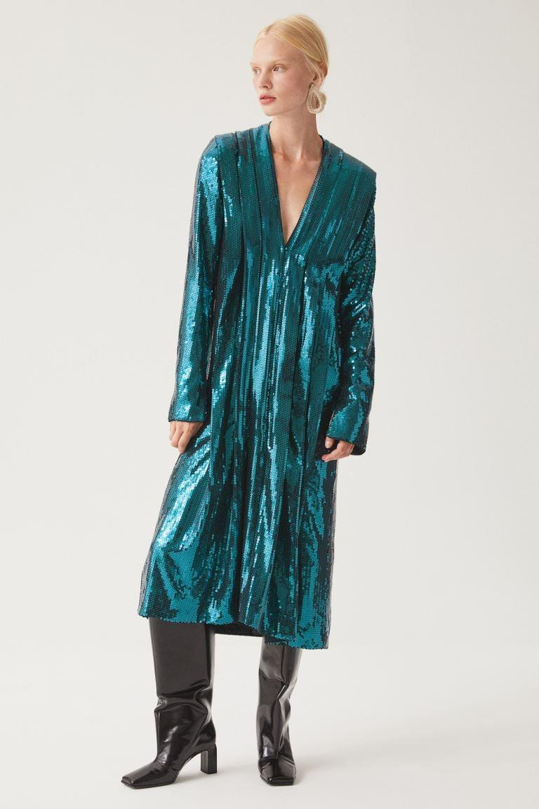 <p><span>Sequined Dress</span> ($199)</p>